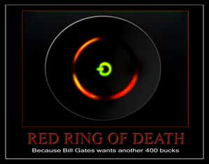 Red Light Ring of Death Xbox 360 Free help and codes to fix the red ring problem